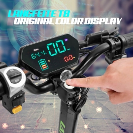LANGFEITE T8 ELECTRIC BICYCLE CONTROLLER WITH LCD DISPLAY PANEL E BIKE ELECTRIC BIKE E SCOOTER BRUSHLESS CONTROLLER