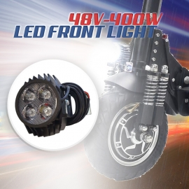 Headlight for e scooters 48V Ebike LED Front Light Electric Scooter Super Bright Headlight Langfeite L8S Electric Bicycle Front Lamp Bike Accessories