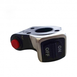LANGFEITE L8S HANDLEBAR FRONT LIGHT SWITCH HORN BUTTON FOR ELECTRIC SCOOTER BICYCLE