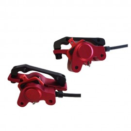 LANGFEITE T8 FRONT AND REAR HYDRAULIC BRAKE FOR E SCOOTER E BIKE WITH BRAKE SENSOR