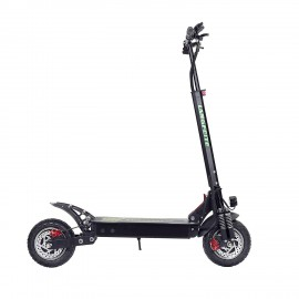 LANGFEITE L8S 2019 Version 20.8Ah 48V 800W * 2 Dual Motor Folding Electric Scooter Color Display DC Brushless Motor 45km / h Top Speed ​​55km